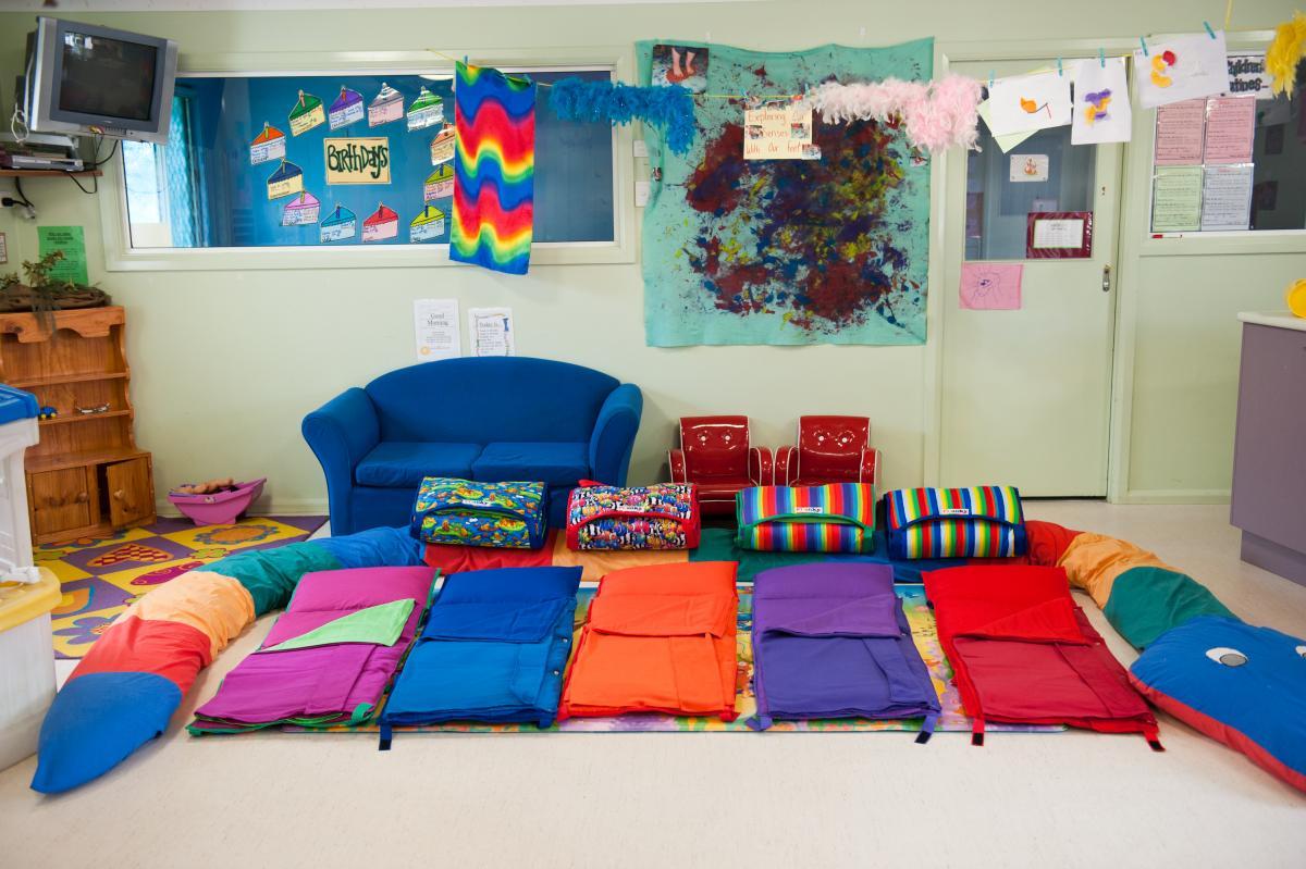 Infant Playroom - Home daycare design ideas